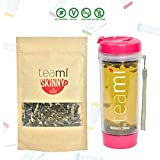 DETOX TEA for a Teatox & Weight Loss - 30 Day Supply to get Fit - Skinny by Teami Blends - Best to Help Boost Metabolism and Reduce Bloating - 100% Natural Appetite Suppressant (w/ Pink Tumbler)