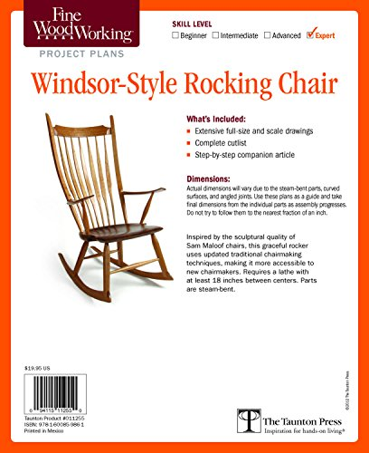 Rocking Chair Plan - 4