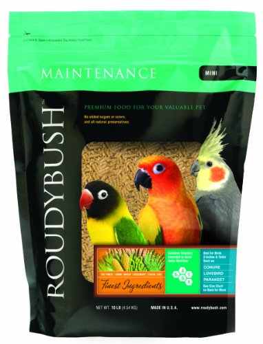 Roudybush Daily Maintenance Bird Food, Mini, 10-Pound, My Pet Supplies