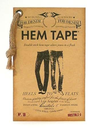 Double Stick No Iron No Sew Fashion Hem Tape For Denim