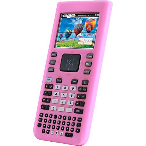 Guerrilla Silicone Case for Texas Instruments TI Nspire CX/CX CAS Graphing Calculator, Pink