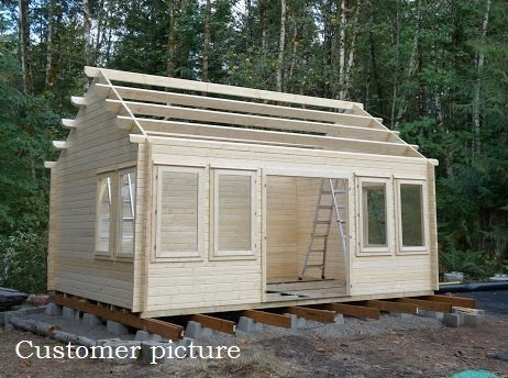 Allwood Kit Cabin Claudiahe Shed