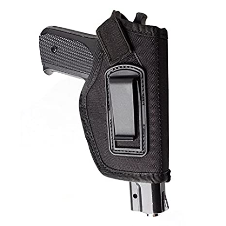 ENJOY OUTDOOR IWB Gun Holster Concealed Carry Inside The Waistband   Fits  All Firearms S&W M&P Shield 9/40 1911 Taurus PT111 G2 Sig Sauer Glock 19 17