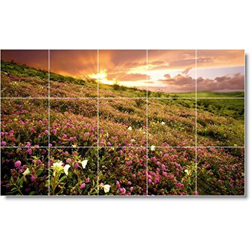 Ceramic Tile Mural-Sunset Photo Tile Mural S001. 60