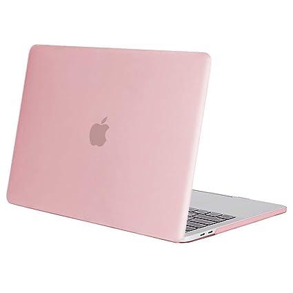 MOSISO Funda Dura Compatible con 2019 2018 2017 2016 MacBook Pro 13 con/sin Touch Bar A2159 A1989 A1706 A1708 USB-C, Ultra Delgado Carcasa Rígida ...