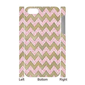 3D Bumper Plastic Case Of Chevron customized case For Iphone 4/4s hjbrhga1544