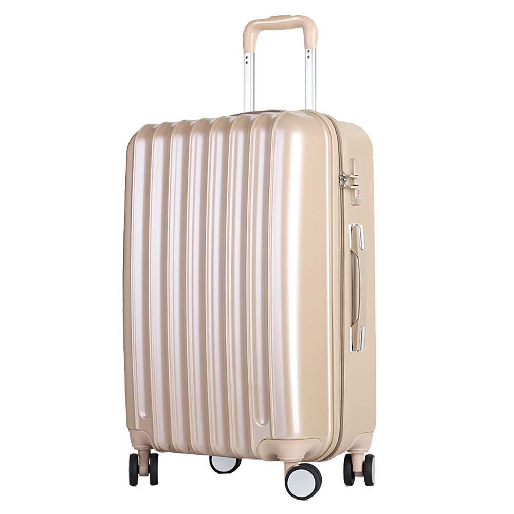 トロリー荷物キャスタースーツケース20インチの男性と女性のヒップスターミラー荷物袋のシャンパン色55 * 35 * 23CM   B07KR7XYV3
