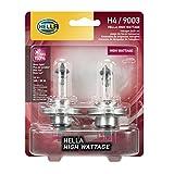 Hella - Juego de focos halógenos, High Wattage - 100/80W, Twin Blister
