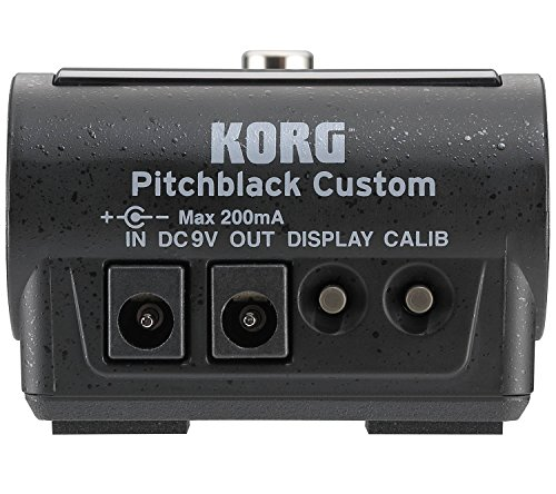 Korg Pitchblack Custom Tuner Pedal with 2 Patch Cables by Korg (Image #3)