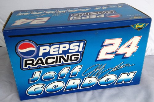 JEFF GORDON #24 Monte Carlo PEPSI RACING Limited Edition 1 of 2,508 NASCAR 1:24 Diecast Metal Car -