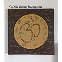 "Cuadro decorativo moderno - Pintura ""Símbolo OM Hindú Mándala"""