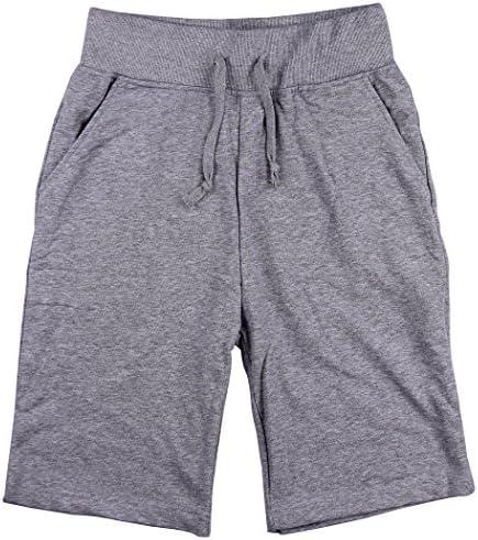 De los hombres el sudor estilo larga Athletic pantalones cortos