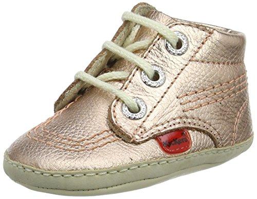 Kickers Unisex Baby 1st Kicks Stiefel Pink (Rose Gold)