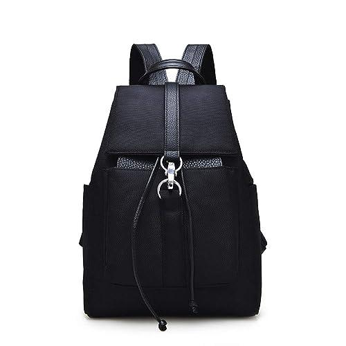 Tibes Moda Oxford tela mochila para las mujeres Mochila escolar mochila mujer mochila Negro: Amazon.es: Zapatos y complementos