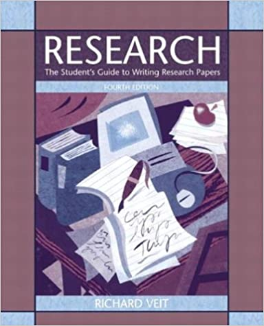 Amazon.com: Research: The Studentu0027s Guide To Writing Research Papers (4th  Edition) (9780321198341): Richard Veit: Books