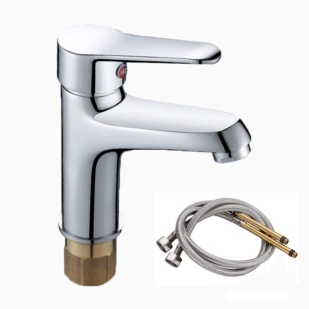 C redating hot and cold single hole faucet-bathroom fixture-bath faucet, all copper basin basin wash basin bathroom wash basin faucet