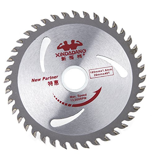 4in Plywood Blade - Tungsten Alloy Circular Saw Blade, Ankoow 4-Inch Cutting Discs Thin Kerf Woodworking Rotary Tool Profile Cutting