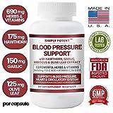 Best Blood Pressure Supplements - Blood Pressure Support Supplement, 90 Natural High Blood Review