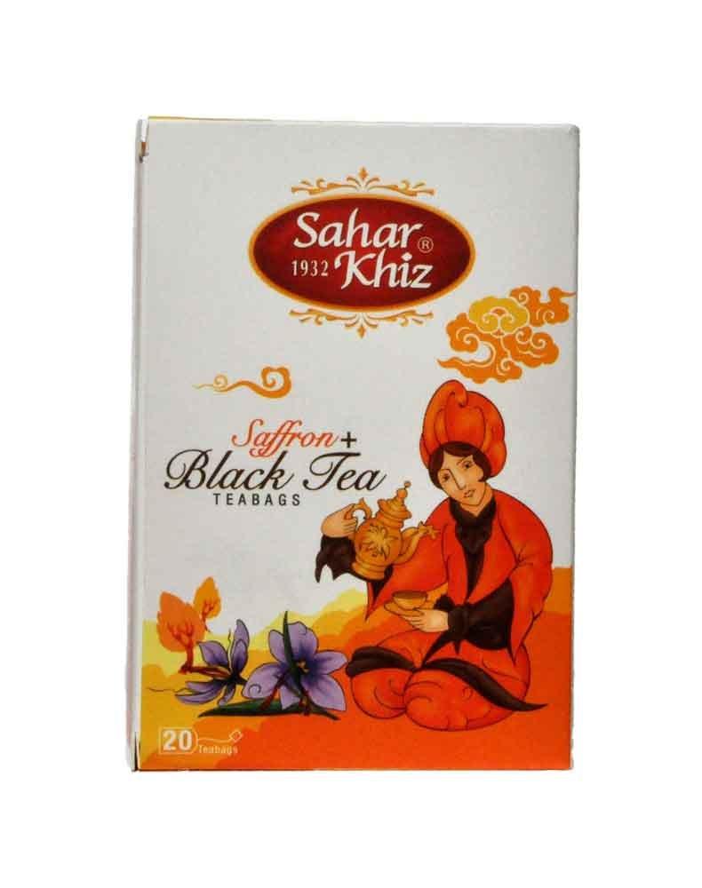 Saharkhiz Saffron + Black Tea