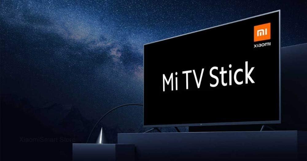 Xiaomi Mi TV Stick 2K HDR HDMI Quad-Core DDR4 Bluetooth WiFi Dolby DTS HD Decodifica Android TV 9.0 Versione globale
