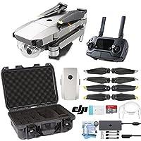 DJI Mavic Pro Platinum Drone with Custom Nanuk Waterproof Hard Case (Olive)