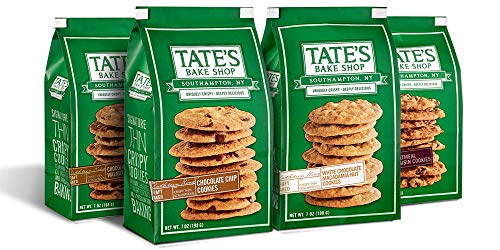 Tate's Bake Shop Thin & Crispy Cookies Variety Pack, 7 Ounce, 4 Count