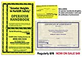 OSHA Compliant Forklift Operator Handbooks (Set of 20 English)