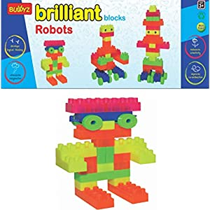 BUDDYZ Brilliant Blocks-Robots