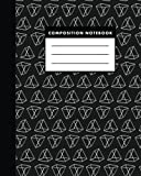 Composition Notebook: Black Metrik Composition Notebook the Best Study Journal for You