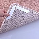 Cheap YJYdada 8Pcs Carpet Pad Non Slip Sticker Anti Slip Mat Pads Anti Slip (White)