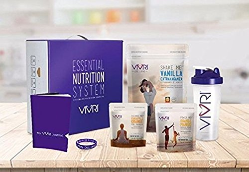 Vivri- Essential Nutrition System Vanilla Shake Me-Orange Mango- 10 Day Challenge