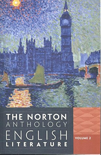 393912485 - The Norton Anthology of English Literature (Ninth Edition)  (Vol. 2)