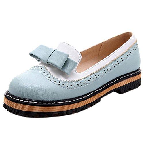 Women Blue Court Slip Shoes COOLCEPT On Yn6OTx