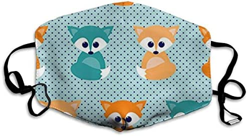 NOT Baby Foxes Personality Lovely Unisex Dust Mask, Suitable for Young Men and Women, Ski Bike Camping Windproof Motorcycle Face Mask