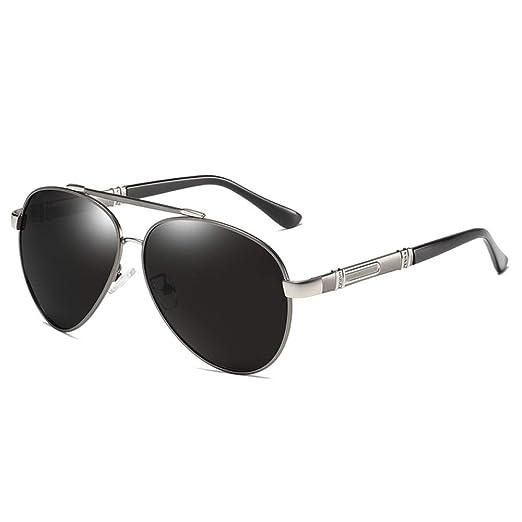 Yangjing-hl Gafas de Sol de Aluminio y magnesio Cambio de ...