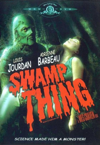 Image result for swamp thing movie poster
