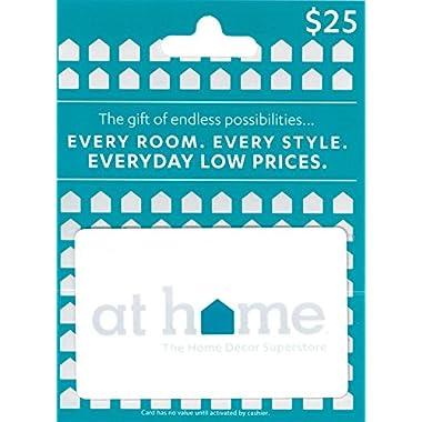 At Home $25 Gift Card