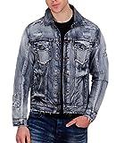 Jordan Craig Shredded Denim Jacket