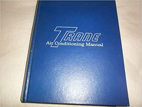 Trane air conditioning manual trane amazon books fandeluxe Choice Image