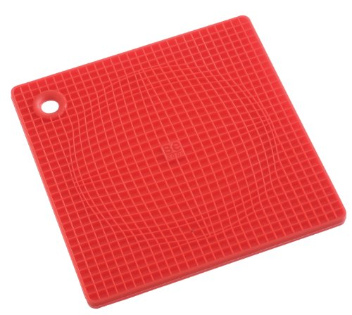 Casabella Red Pot Holder/Trivet