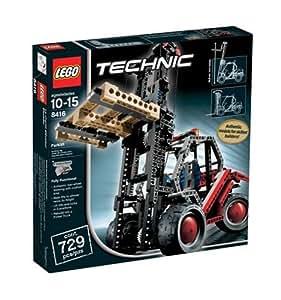 lego 8416 technic forklift toys games. Black Bedroom Furniture Sets. Home Design Ideas