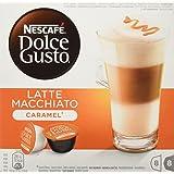 Dolce Gusto Cápsulas De Café Latte Macchiato Caramel - 112 gr