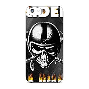 Awesome DCnCdSn3811IwovT Mialisabblake Defender Tpu Hard Case Cover For Iphone 5c- Oakland Raiders