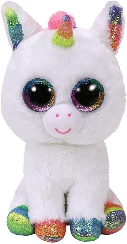 Alaska Stuffed Animals, Amazon Com Ty Beanie Boos Pixy White Unicorn Reg Toys Games