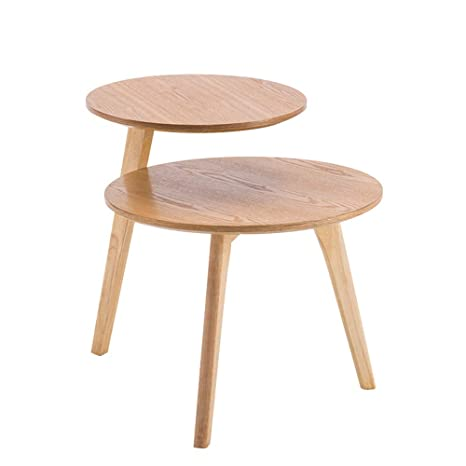Coffee Table Small Tables for Living Room Bedroom Rustic Sofa End Side Table Nightstand Contemporary Mini Table-Black