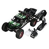 Vibola Remote Control Car 1:12 High Speed 2.4G Green Remote Control High Battery RC Desert Off-Road Racing Car