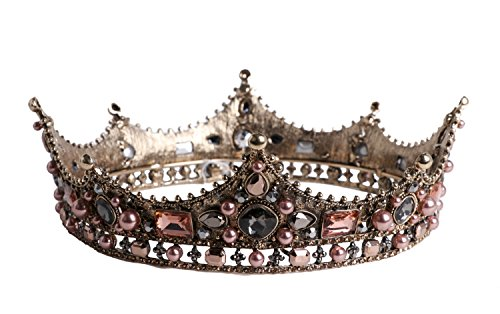 (Arsimus Copper Renaissance Faire Medieval Jeweled Queen)