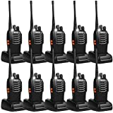 Retevis H-777 Two Way Radio UHF 400-470MHz 2 Way Radio Single Band Rechargeable 16 CH Walkie Talkies (10 Pack)