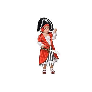 Disfraces FCR - Disfraz pirata niña talla 2 años: Amazon.es ...