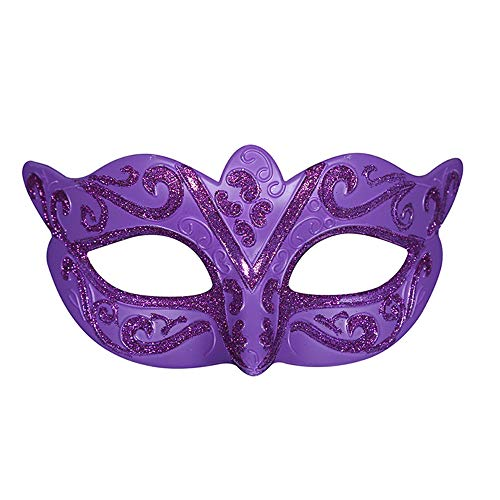 Masquerade Halloween Costumes For Kids (Vetasac Half Face Venetian Masquerade Masks for Child Ball Party Cosplay Halloween Costume Masks XP004)